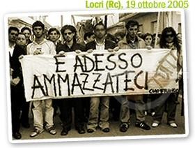 Locri (Rc), 19 ottobre 205 - funerali Francesco Fortugno