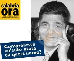 Il direttore di Calabria Ora, Paolo Pollichieni. Comprereste un'auto usata da quest'uomo?