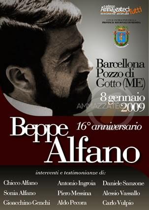 Beppe Alfano, 16° anniversario