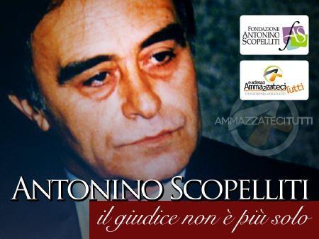 Antonino Scopelliti, il giudice non è più solo