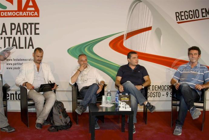 [ NELLA FOTO, da sinistra: Gianluca Ursini (giornalista