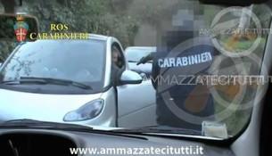 Il video dell'arresto di Massimo Carminati a Roma