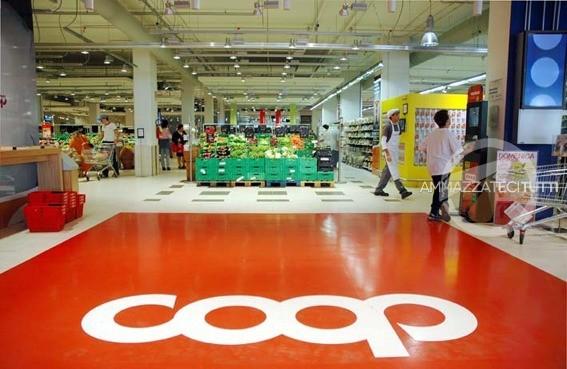 Un ipermercato Coop