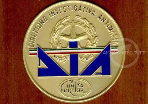 Lo stemma della Direzione Investigativa Antimafia