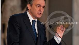 Il presidente della Regione Toscana, Enrico Rossi