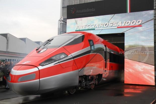 """Il nuovo treno alta velocità """"Frecciarossa 1000"""""""
