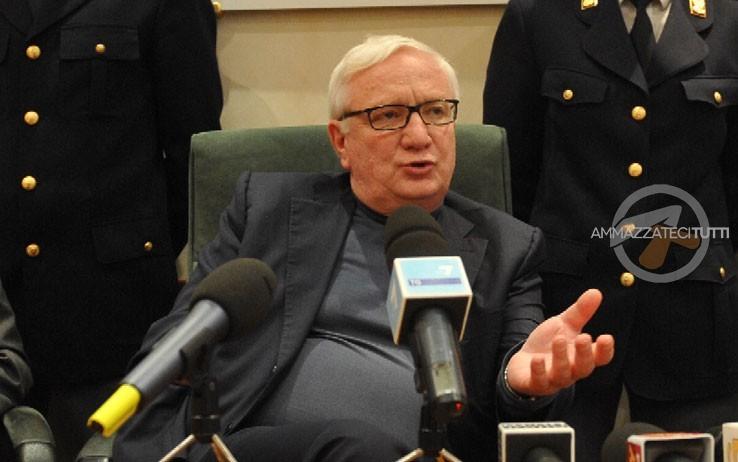 """Il magistrato Giancarlo Capaldo, autore di """"Roma mafiosa"""""""