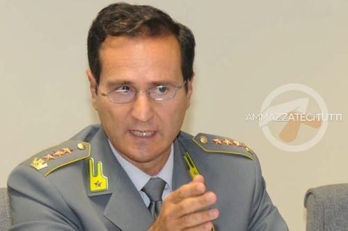 Il generale della Guardia di Finanza Ivano Maccani