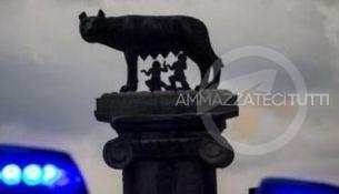 lupa-roma-lampeggianti