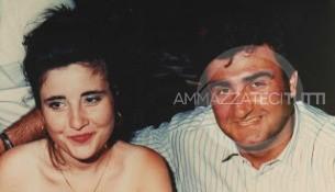 Nino Agostino e la moglie