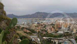 Palermo vista dal monte Pellegrino