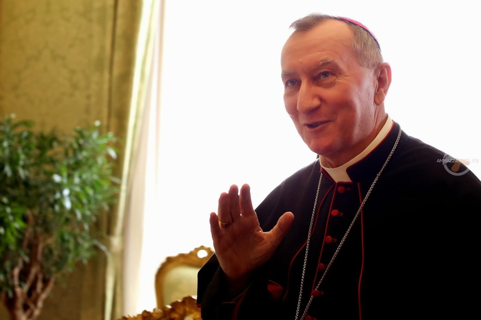 Il segretario di Stato Vaticano cardinal Pietro Parolin