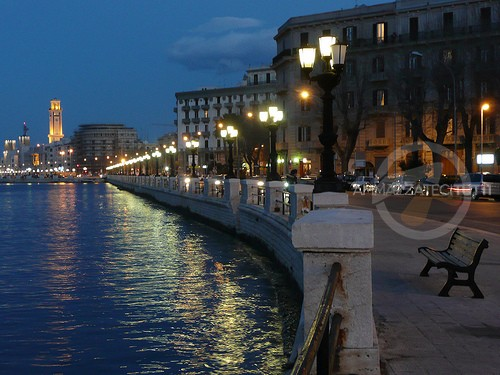 Bari, lungomare San Girolamo