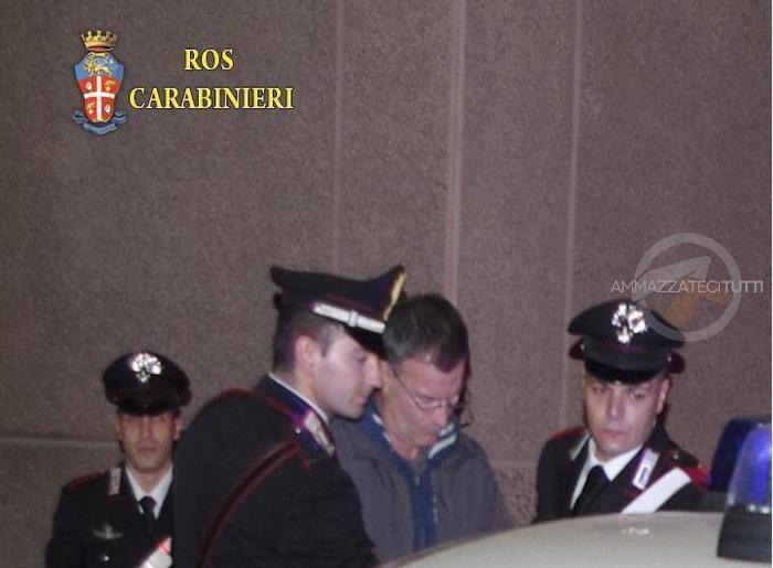 Former member of the Nar neofascist terrorist group Massimo Carminati arrested